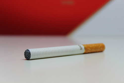 An electronic cigarette. (Credit: Lindsay Fox/ecigarettereviewed.com)