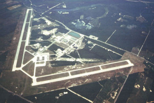NEWS-REVIEW FILE PHOTO | An aerial view of the former Grumman property now called the Enterprise Park at Calverton, or EPCAL