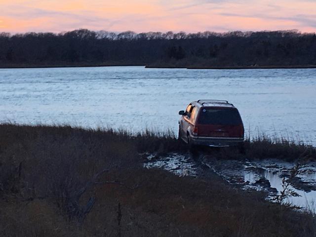 East Marion causeway crash