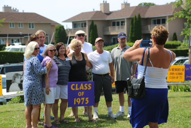 The Class of 1975. (Credit: Joe Werkmeister)