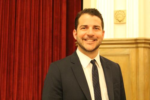 Gary Kalish was hired at Monday's Greenport school board meeting. (Credit: Jen Nuzzo)