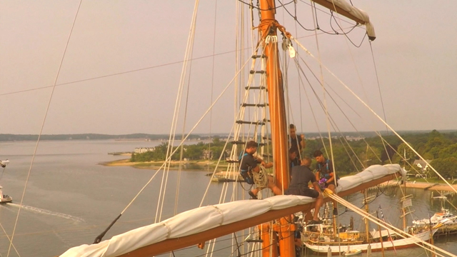 See the Tall Ships from a unique vantage point. (Credit: LePre Media/Andrew LePre)