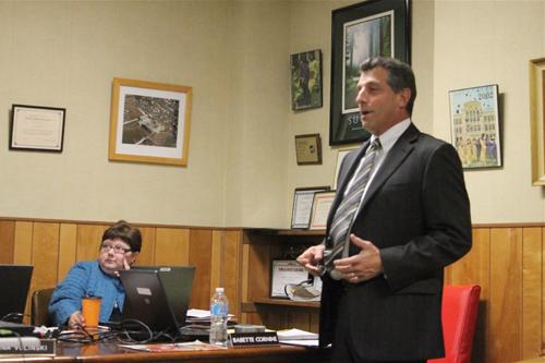 PAUL SQUIRE FILE PHOTO | Greenport School District Superintendent Michael Comanda will present his tentative 2013-14 budget tonight.