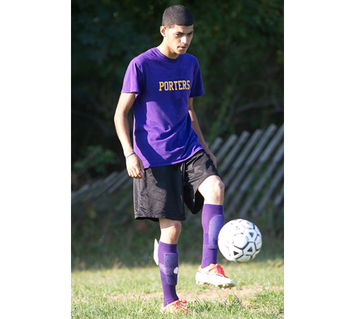 Angel Colon can play any position on the field except goalkeeper, according to Greenport coach Chris Golden. (Credit: Garret Meade)
