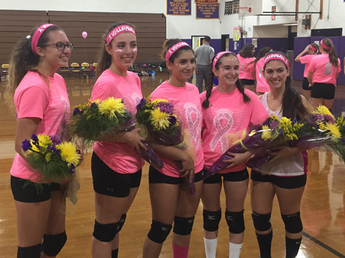 Greenport:Southold girls volleyball 102016