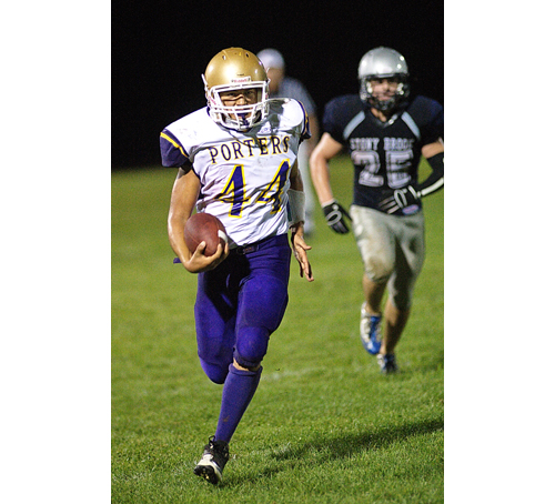 GARRET MEADE FILE PHOTO | Frank Sierra, an all-county senior, was the Porters' leading rusher last season.