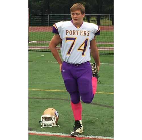 Greenport:Southold:Mattituck football player Kyle Schultz 100316