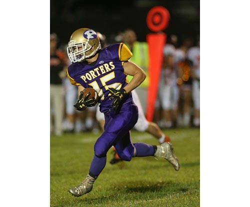 Tristin Ireland will be featured in Greenport/Southold/Mattituck's running game. (Credit: Garret Meade, file)