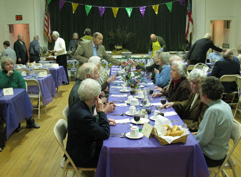 More than $1,000 was raised for charity and community activities at the annual Shrove Tuesday ham dinner hosted by Holy Trinity Church in Greenport. The event was the first of the church's four yearly fundraisers.