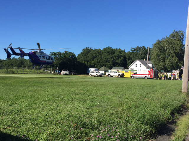 Helicopter airlift southold0822