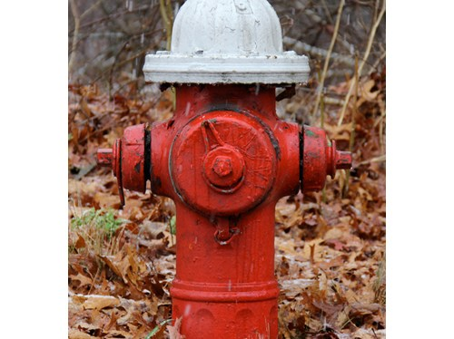 Greenport Fire Department is testing the village's fire hydrants Sunday. (Cyndi Murray photo)