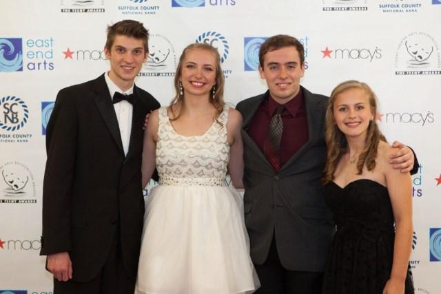 Students from Shoreham-Wading River High School. (Credit: Katharine Schroeder)