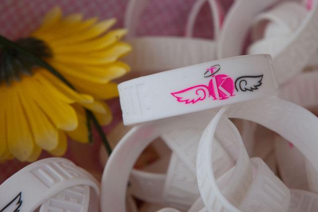 Kait's Angels bracelets. (Credit: Katharine Schroeder)