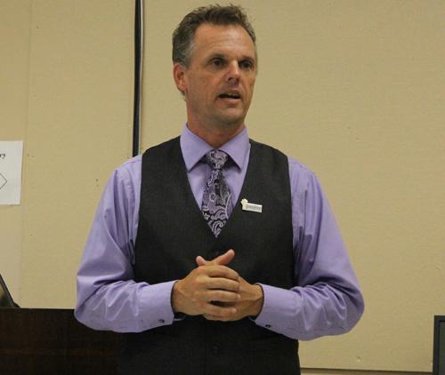 Greenport High School principal Lenonard Skuggevick. (Credit: Jennifer Gustavson, file)
