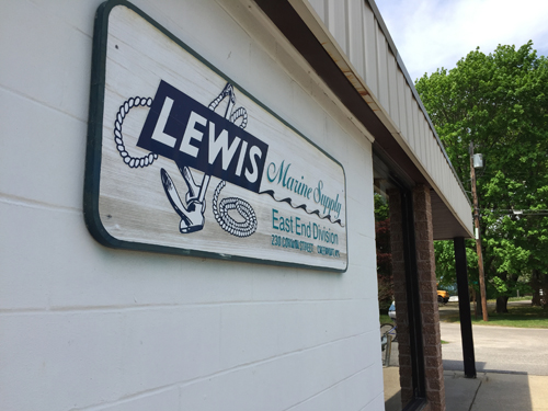 Lewis Marine Supply is closing its doors on Friday. (Credit: Paul Squire)