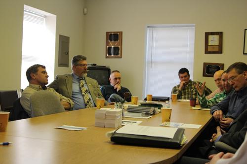 Members of the Long Island Farm Bureau meeting with Congressman Lee Zeldin.