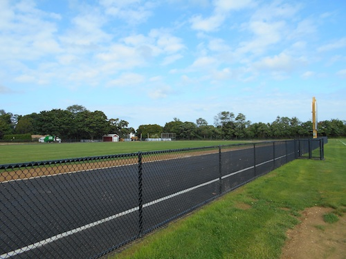 The track at Mattituck High School. (Cyndi Murray)