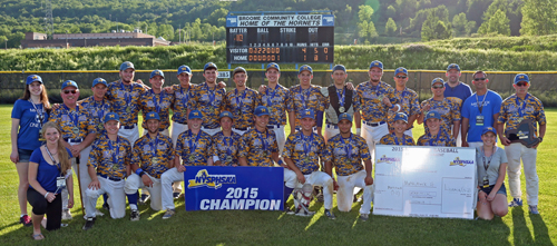 Mattituck realized its ambitious goal of winning its first state championship on Saturday in Binghamton. (Credit: Daniel De Mato)