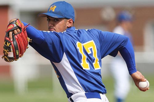 Marcos Perivolaris of Mattituck was a first team all-state player last year as well as the League VIII most valuable player. (Credit: Garret Meade, file)