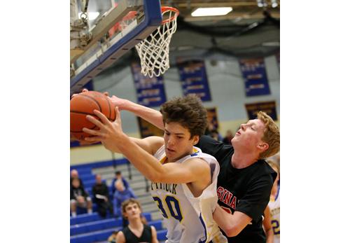 Mattituck basketball player Ryan Shuford 122816