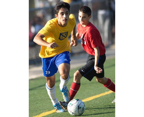 Mattituck's Kaan Ilgin was the Suffolk County small schools player of the year in 2013. (Credit: Garret Meade file photo)