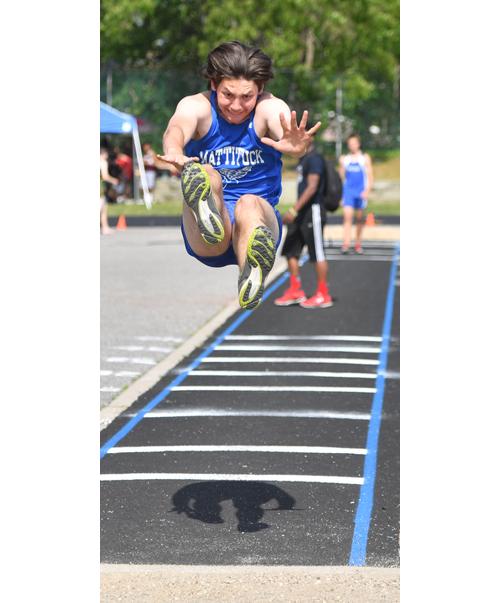 Mattituck track athlete Jack Dufton 052516