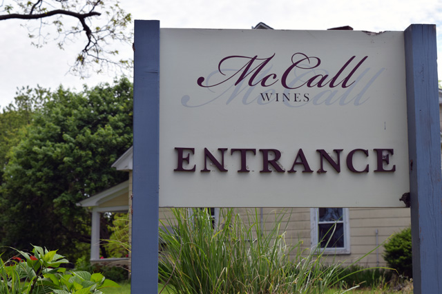 McCall Vineyards and Ranch in Cutchogue. (Credit: Vera Chinese)