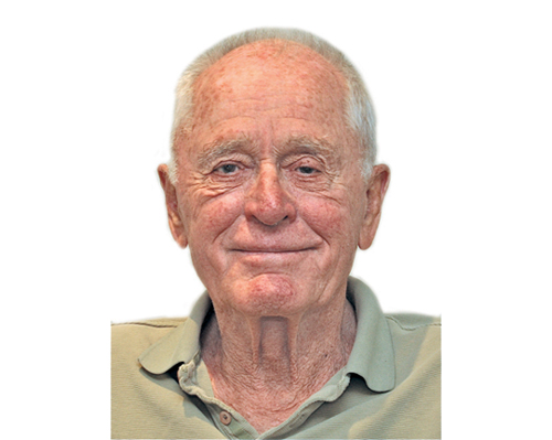 Howard Meinke of Laurel, shown in a headshot that appeared with his guest columns in The Suffolk Times, died Thursday night.