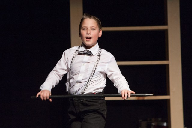 """Joseph Podlas performs """"When I Get My Name in Lights."""""""