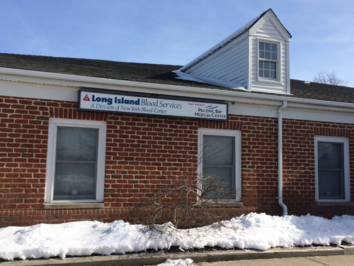 RACHEL YOUNG PHOTO | The New York Blood Center in Riverhead.