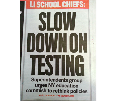 Newsday Common Core