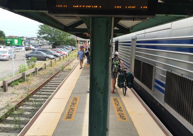 North Fork train service