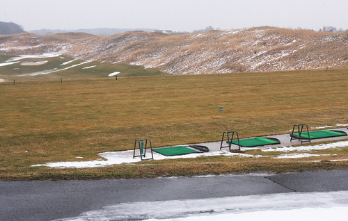 BARBARAELLEN KOCH PHOTO  |  The driving range at Long Isalnd National Golf Course in Northville.