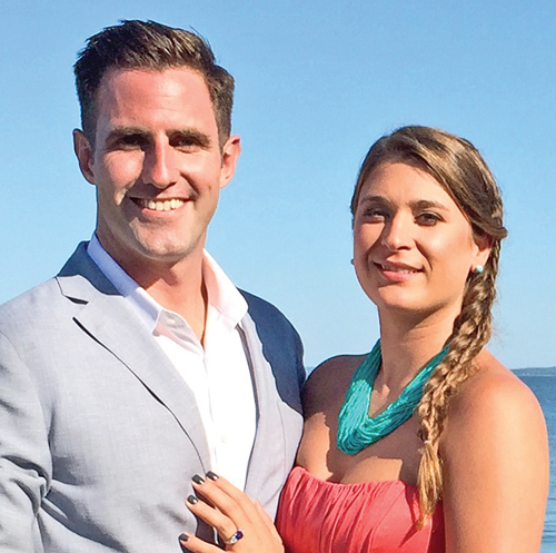 Bryan Zissel and Lisa Marie Grodski. (Credit: Courtesy photo)
