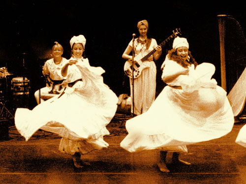 COURTESY PHOTO | The all-female Caribbean troupe Retumba will perform Monday at Greenport schools.