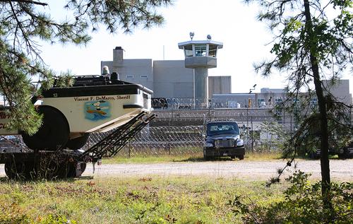 The Suffolk County Jail in Riverside. (Credit: Barbaraellen Koch, file)