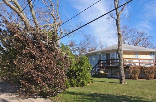 Jamesport, North Fork, Hurricane Sandy, Long Island