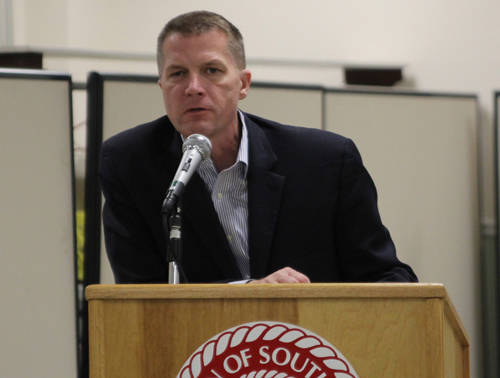 Southold Town Supervisor Scott Russell. (Credit: Jen Nuzzo, file)
