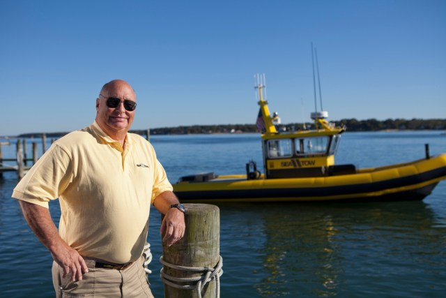 """Captain Joe"" Frohnhoefer, founder of Sea Tow Services International, died Tuesday. Services have been scheduled for this weekend. (Credit: courtesy photo)"