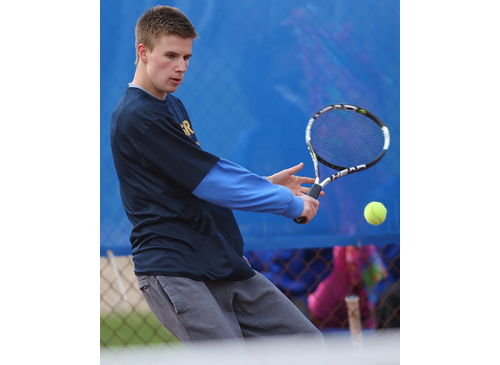 Shoreham-Wading River tennis player Chris Kuhnle 040816