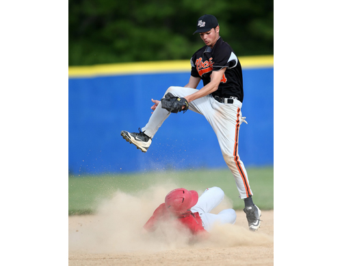 Southold baseball player Joe Hayes 060216