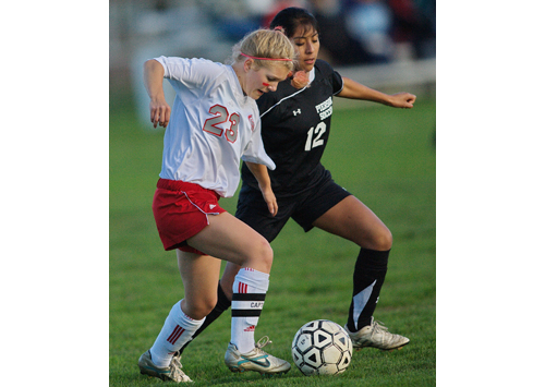 GARRET MEADE FILE PHOTO | Southold/Greenport's all-conference center midfielder Justina Babcock is going into her fourth varsity season.