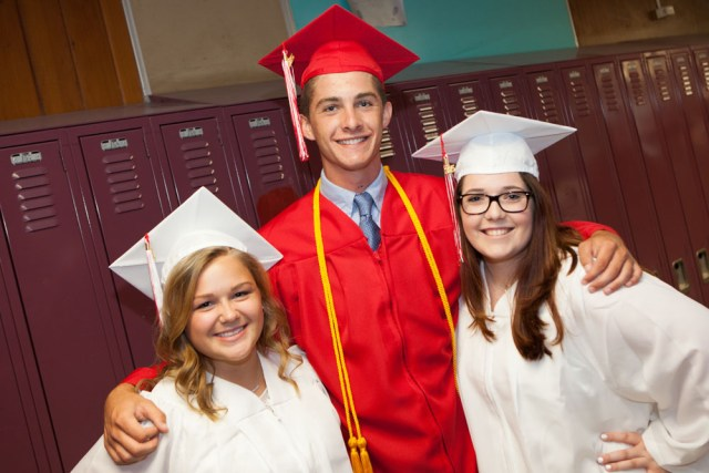 Lexi Leonard, Thomas Messana, Grace O'Donnell.