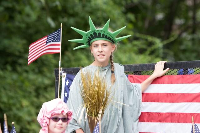 Now that's some patriotic pride. (Credit: Katharine Schroeder)