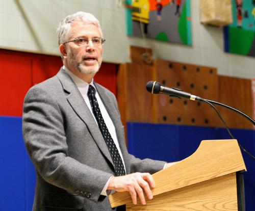 Shoreham-Wading River School District Superintendent Steven Cohen. (Credit: Jen Nuzzo, file)