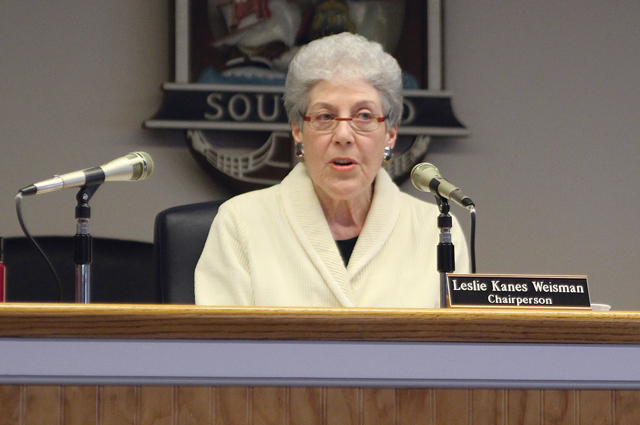 Southold Town Zoning Board of Appeals chair Leslie Kanes Weisman. (Credit: Jen Nuzzo)