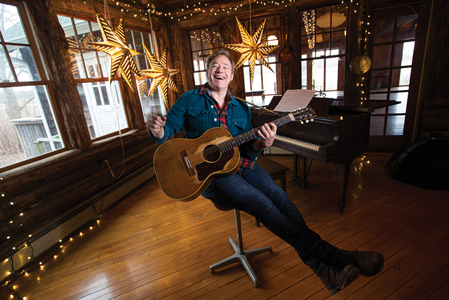 Grammy-nominated singer/songwriter Brady Rymer says he wrote 'It's A Beauty' because he found the Greenport Fire Department's restoration effort inspiring. (Credit: Randee Daddona)