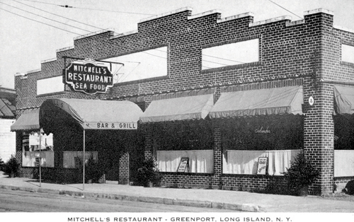 FLOYD MEMORIAL LIBRARY COURTESY PHOTO | Mitchell's Restaurant was a mainstay on Front Street until it was destroyed by fire in the late 1970s.