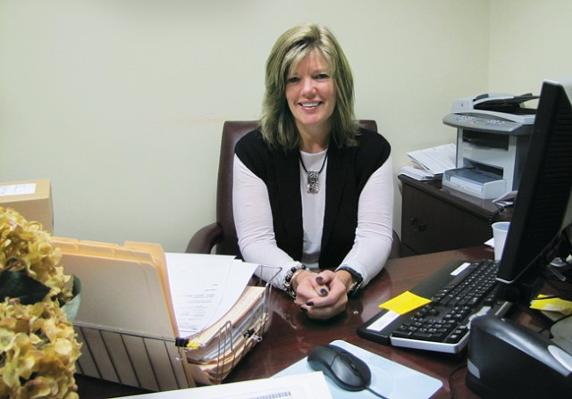 The incoming Southold Town Justice Court director, Leanne Reilly, will take over on Jan. 5. She currently serves as director of the Westhampton Beach Justice Court, which she has helped run for the past 10 years. (Credit: Paul Squire)