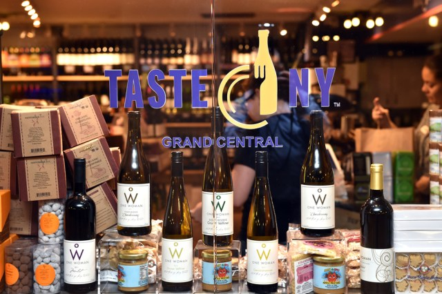 Taste NY Grand Central store is open for business.